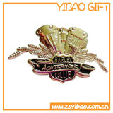 コレクションのギフト(YB-LP-052)のための柔らかいエナメルの金Pinのバッジ