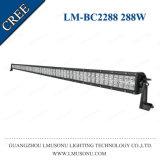 Lmusonu 50 barre tous terrains droite 288W d'éclairage LED du véhicule 4X4 DEL de rangée duelle de pouce