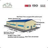 Grande edificio per uffici galvanizzato prefabbricato della struttura d'acciaio