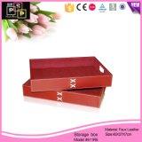 Custom de cuero de alta calidad caja de almacenamiento (411R5).