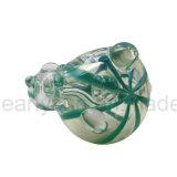 Heißer Glaslöffel-Pfeife (ES-HP-435)