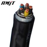 câble d'alimentation isolé par XLPE/PVC/PE en aluminium de cuivre du conducteur 11kv