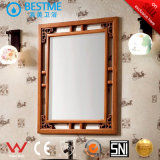 Governo di stanza da bagno classico di legno della quercia con lo specchio (BY-F8076)