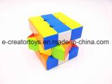 3 Farbe des Ordnungs-mischte magische Würfel-6 von interessanten Spielwaren
