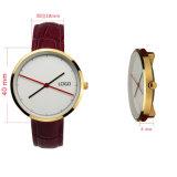 Preiswerte Preis-lederne Brücke-Fantasie-Uhren für Männer