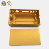 Gouden het Anodiseren van de Kleur Aluminium die Delen voor Elektronische het Assembleren Delen machinaal bewerken