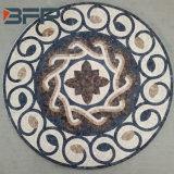 Естественный каменный круглый мраморный медальон мозаики для плиток пола