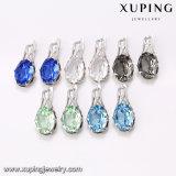 XupingのベストセラーのラインストーンはSwarovskiの方法宝石類のイヤリングからの水晶を設計する