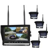 2.4G Câmera para visão traseira Sem Fios Digital & 9 Polegadas do Sistema do Monitor