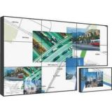 """Стена нового ультра шатона 55 узкой части 3.5mm """" видео- с Built-in технологией уменьшения шума 3D"""