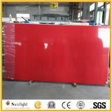 De zwarte/Witte/Rode/Gele Kunstmatige Steen van het Kwarts voor Countertops