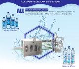 선 플라스틱 병에 넣은 물 충전물 기계장치를 완료하십시오