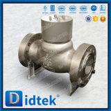 Didtek aparafusou a válvula de verificação Closing lenta do aço inoxidável da capota