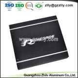 Dissipateur de chaleur en aluminium anodisé 6063 T5 pour l'Auto de l'amplificateur d'Extrusion radiateur