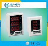 Compteur Kwh numérique électrique Volt/AMP/Hz/Watt de trois mètres de la phase de l'énergie compteur numérique de 3 mètres de la phase Tableau de bord numérique