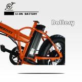 セリウム公認36V 250Wの脂肪質のタイヤの電気折るバイク