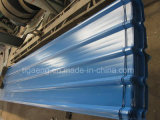 Das gewölbte Farben-Stahldach bedeckt PPGI galvanisiert Roofing Blätter