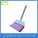 Double faces multifonctionnelle qui sillonnent de balai de nettoyage de la poussière de balai plat Mop pour rideaux, tapis et de verre