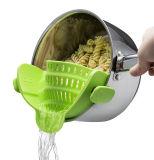 Удобная кухня осуществлять красочные силиконового герметика сетчатый фильтр