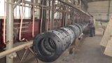 La norma ASTM A105 B16.5 Brida Deslizante de acero al carbono forjado en la brida