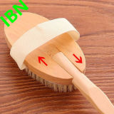 Detox Massager Exfoliating деревянная естественная щетка ванны кожи щетинки