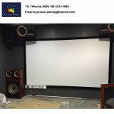 akustisch transparenter gesponnener Projektions-Bildschirm des örtlich festgelegten Rahmen-4K