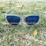 Gafas de sol polarizadas tendencia caliente del espejo de la manera del marco de la PC de la lente del Tac