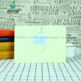 Envelop van de Kaarten van het Document van de Uitnodiging van het Huwelijk van de douane de Embleem Afgedrukte