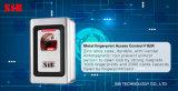 Programa de lectura impermeable del control de acceso de la atención del tiempo de la huella digital IP68