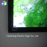 Van het LEIDENE van het aluminium Raad van het Teken van het Vakje Backlit Frame van de Affiche Lichte voor het Teken van de Vertoning van het Snelle Voedsel van het Menu