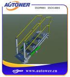 도로 트럭/열차를 위한 안전 감금소를 가진 접히는 층계