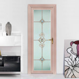 China Supplier Wooden Color Aluminum Bathroom DOOR Price India