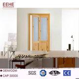 Puerta BI-Plegable de la partición de madera sólida con el hardware para el hotel
