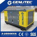 генератор поколения 15kVA 12kw трехфазный малошумный тепловозный с двигателем Kubota