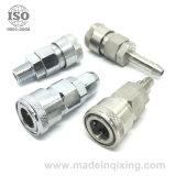 Zoccolo pneumatico/idraulico dell'accoppiamento della versione rapida Brass/SS304 316