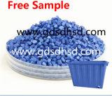 Blauwe die Masterbatch voor Plastic het Vormen van de Injectie Producten wordt gebruikt