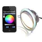 WiFi СИД франтовское Downlights с 2in1 СИД для белой температуры Ajudstable CCT