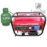 generatore elettrico della benzina del gas naturale GPL di inizio 3kw/3kVA per uso domestico