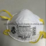 Respirateur fonctionnant 3m de face de sûreté de masque de la poussière N95 industrielle 8210