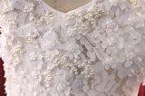 Sereia elegante do laço que nivela o vestido de casamento nupcial