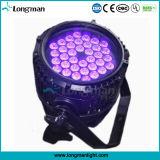 Impermeable al aire libre 36pcs 3W UV LED de luz negra para paisaje