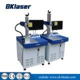Firmenzeichen-Laser-Markierungs-Maschine mit Kühler und Computer