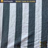 China barata Stripe Tejido de poliéster hilado teñido de tejidos de ropa de cama de hospital y Hometextile