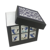 Boîte de papier de cosmétiques haut de gamme boîte cadeau boîtes d'emballage avec le bac