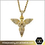 Ontwerp Mjhp136 van de Tegenhanger van de Vleugel van de Engel van Doubai van Bling het Eenvoudige Gouden