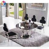 イベントHly-St14のための椅子を食事するステンレス鋼の宴会の革結婚式