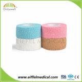 試供品動物の獣医またはペット美しい綿の凝集の伸縮性がある包帯