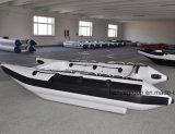 Vente à grande vitesse de bateaux de catamaran gonflable de personne de Liya 4.3meter 6