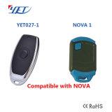 Vervanging Ver voor Verre Nova, Afstandsbediening 433, 92MHz van de Deur van de Garage van de Nova