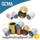 Embout en laiton de la chemise 00400 d'embout de durites pour 4sp. 4sh 10-16, boyau de R12/06 -16